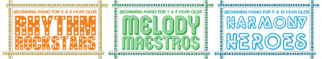group piano lessons at Colourful Keys
