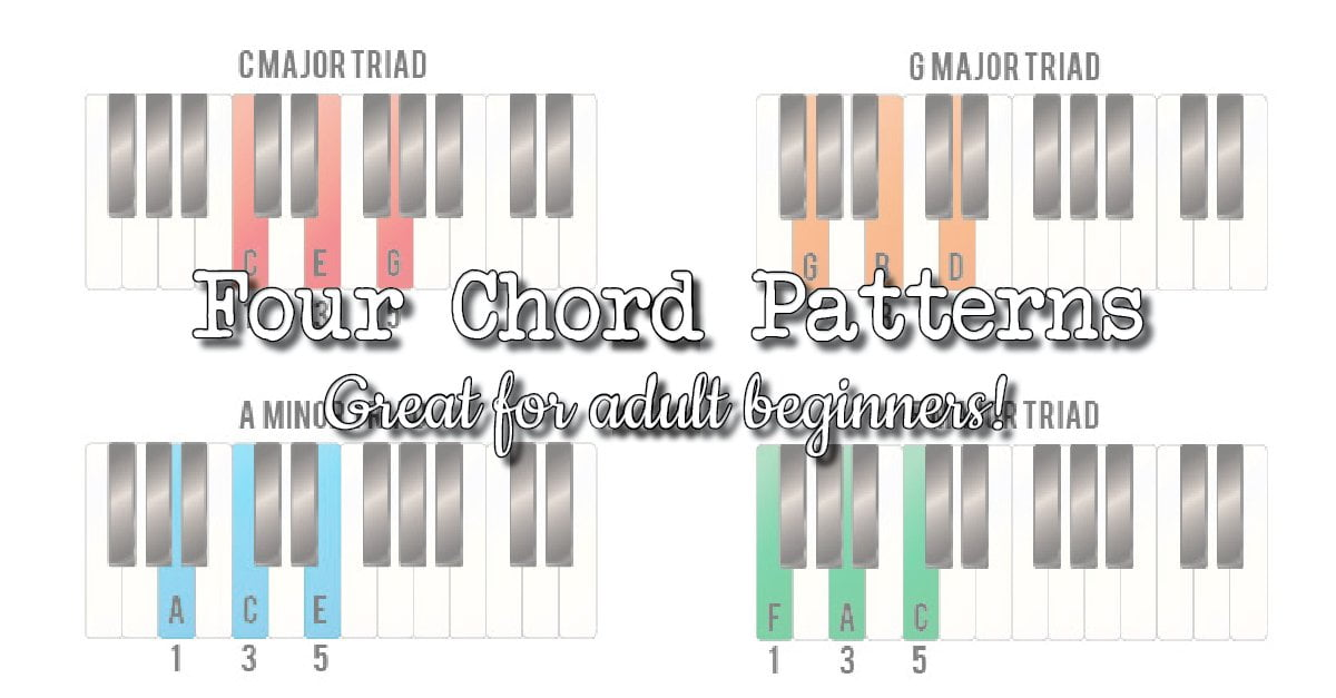 Four chord patterns