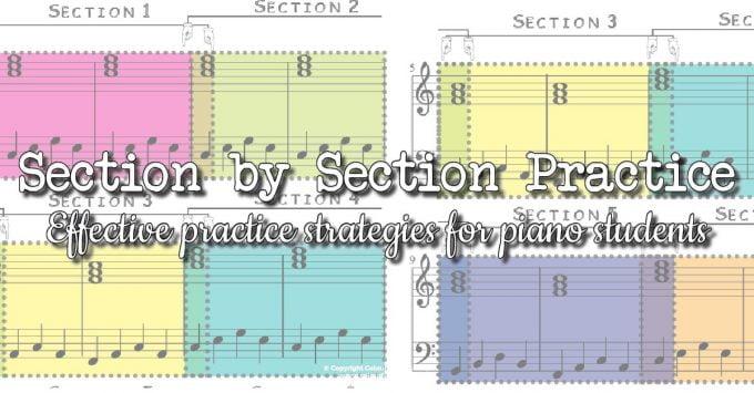 Effective piano practice
