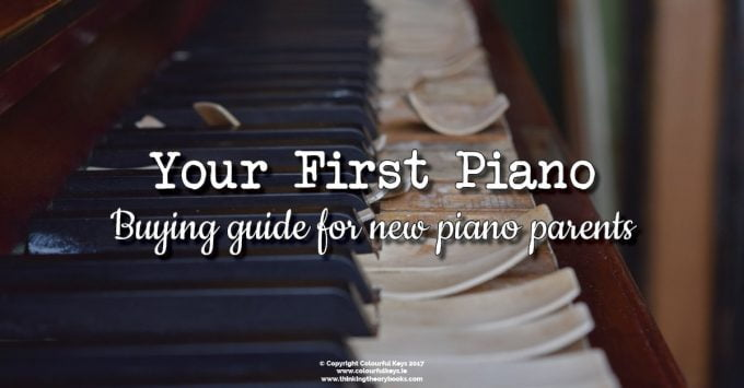How to Choose Your Child's First Piano or Keyboard