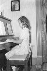 practice piano photo