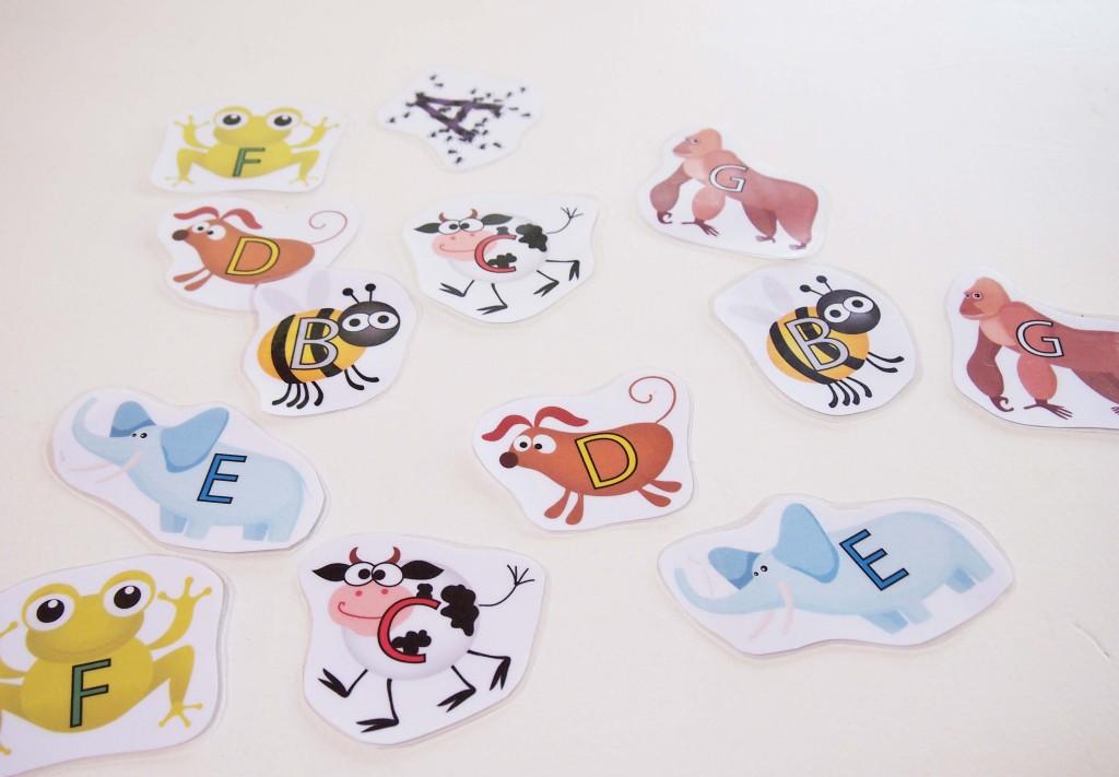 Musical Alphabet Animals