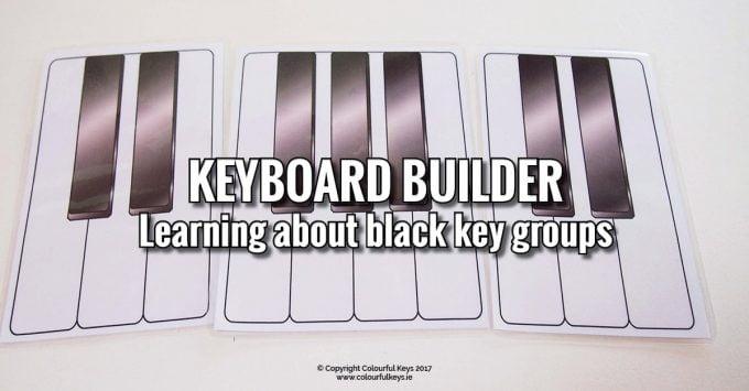 Piano Builder – Seeing Black Key Patterns