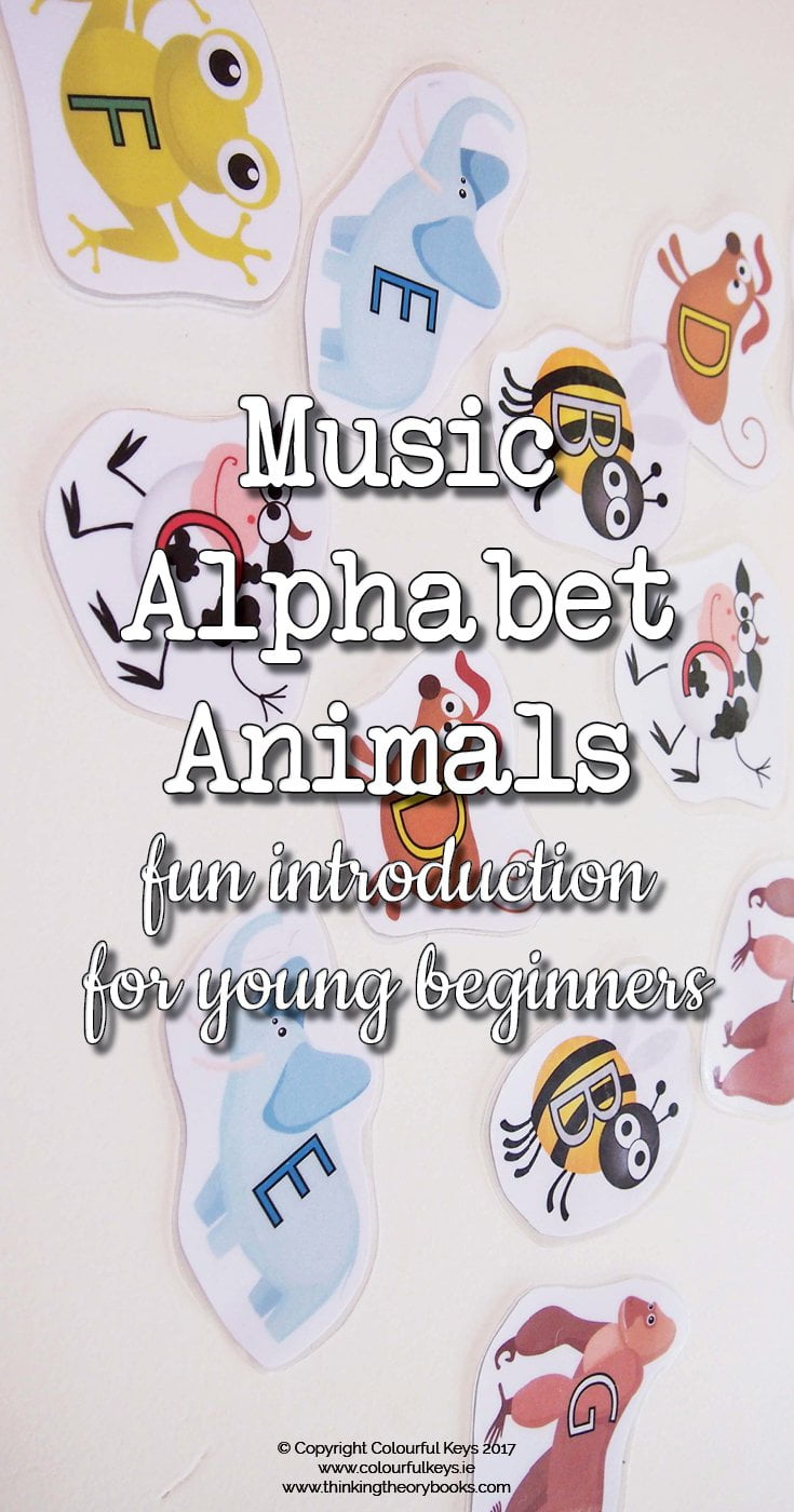 Introducing the music alphabet animals