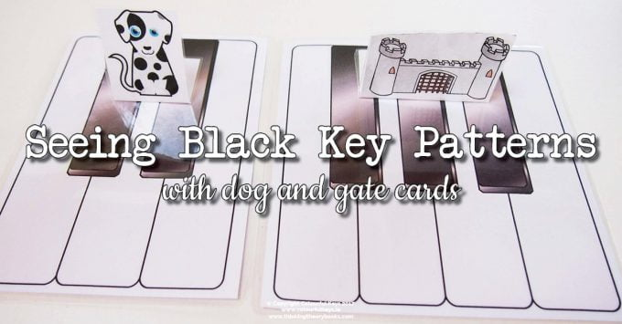 Helping Piano Preschoolers to See Black Key Patterns