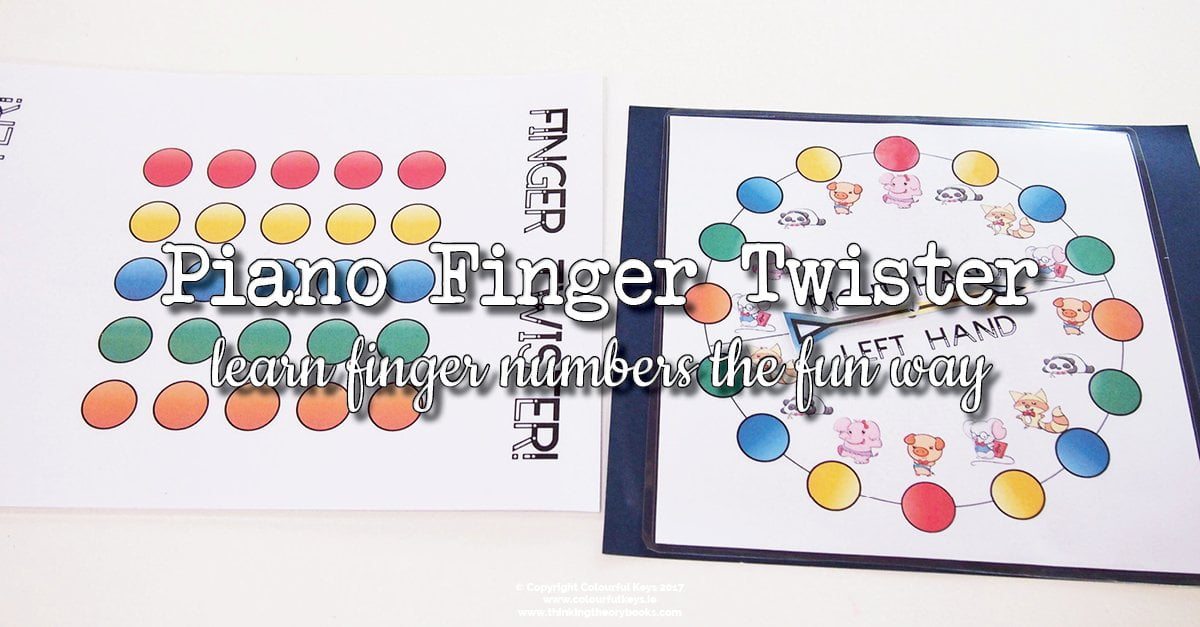 Piano finger twister
