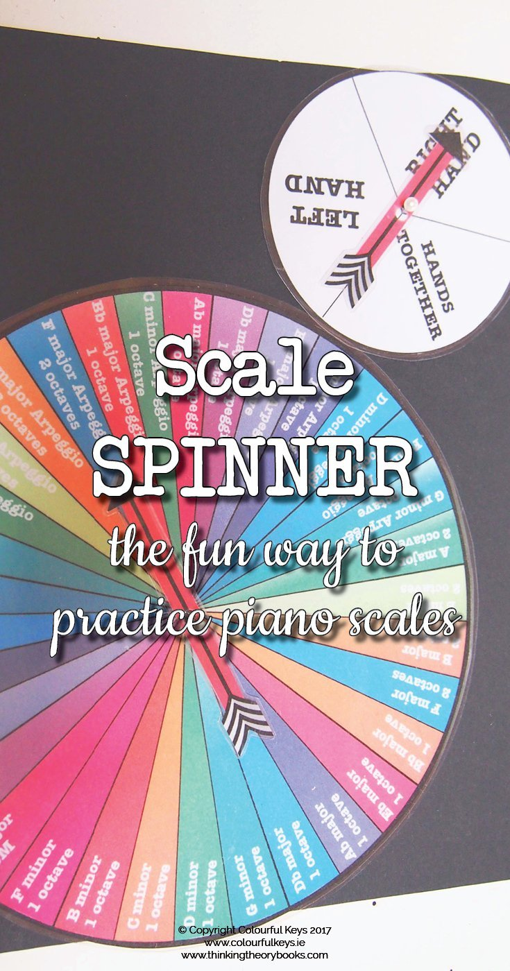 Piano scale spinner