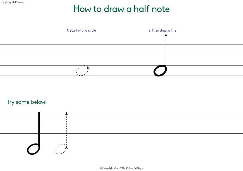 drawing-half-notes