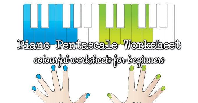Pentascales worksheets