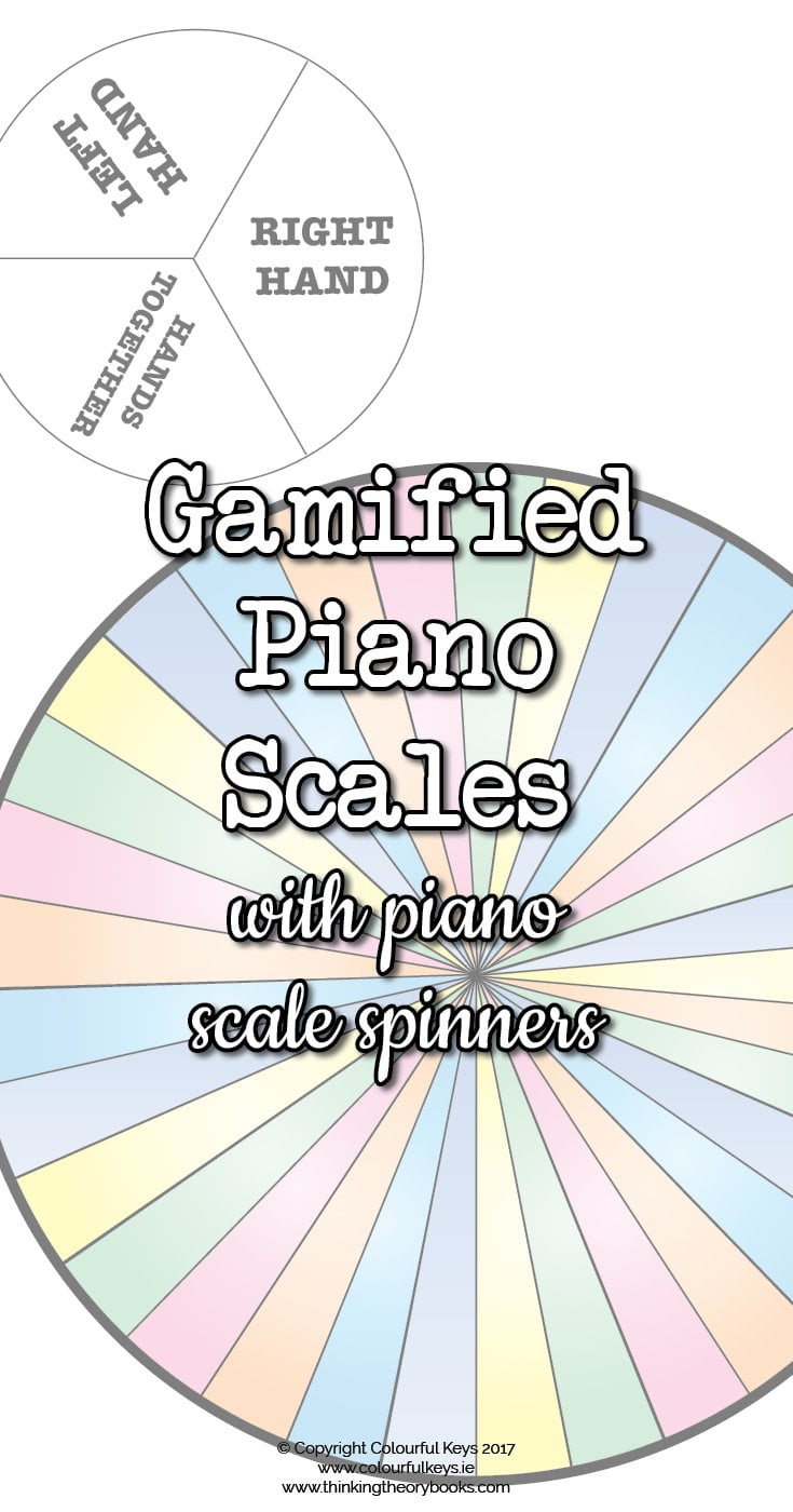 Piano scale spinners