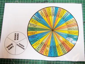 Grade 6 scale spinner