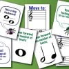 Buggy Bugston board game cards