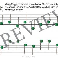 buggy bugston primer level worksheet 10