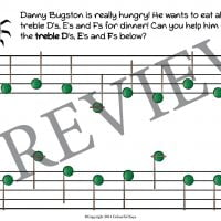 buggy bugston primer level worksheet 13