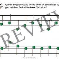 buggy bugston primer level worksheet 21