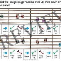 buggy bugston primer level worksheet 5