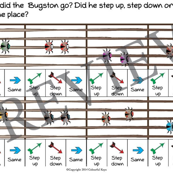 buggy bugston primer level worksheet 5