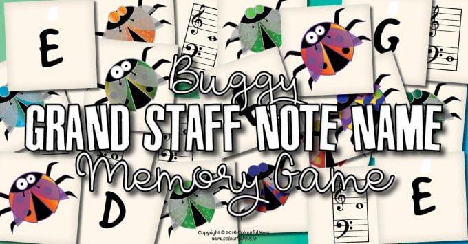 Bug theme musical memory game