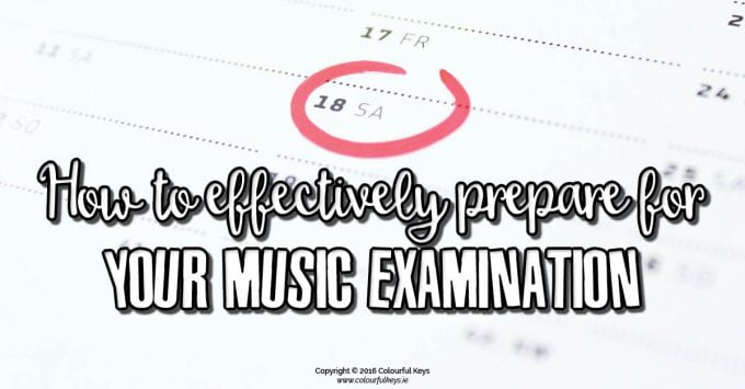How to Prepare for a Piano Exam