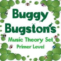 buggy bugston primer level music theory set