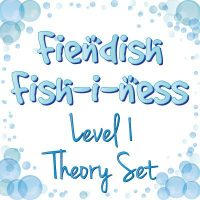 fiendish fishiness level 1 music theory set