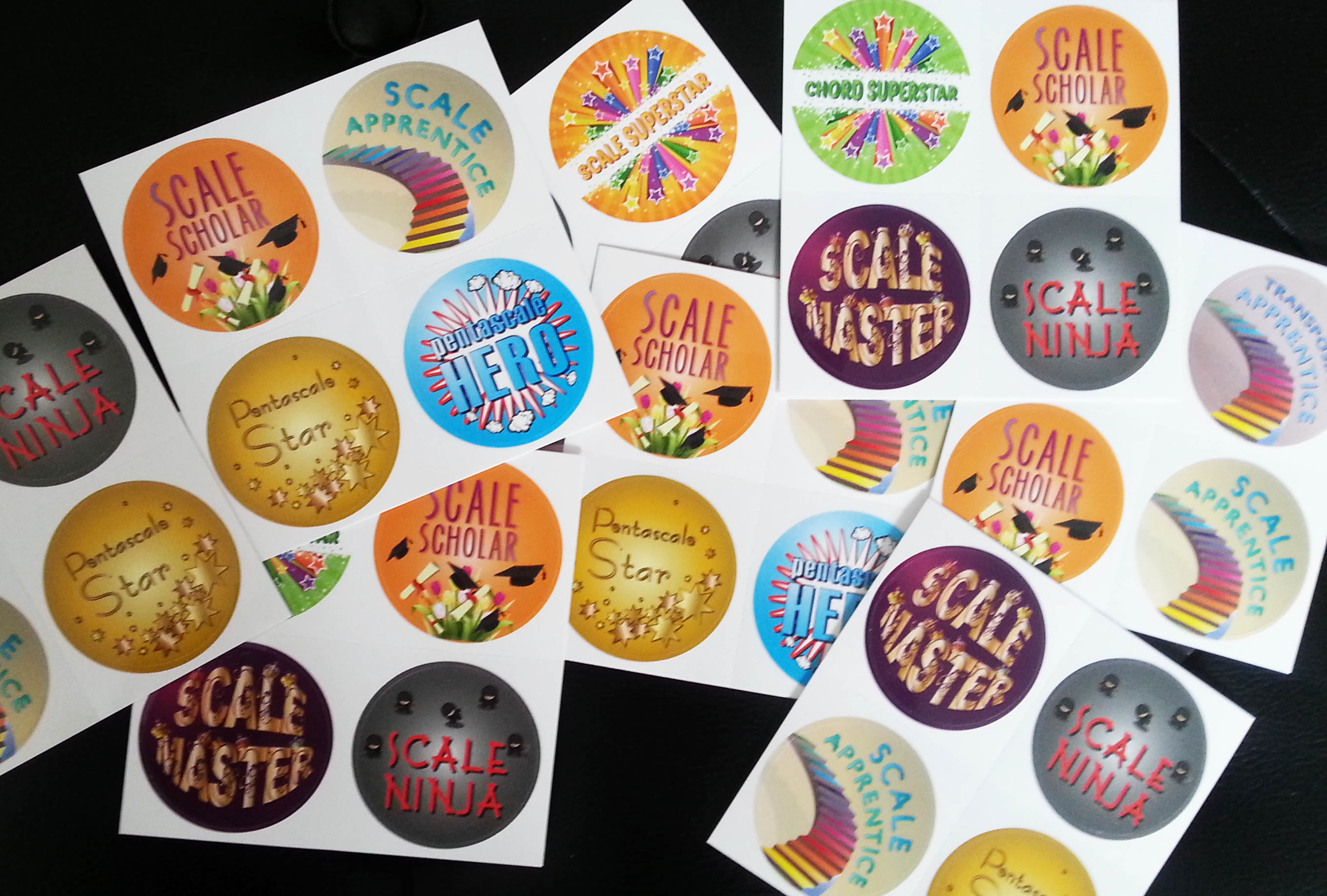 scale challenges reward stickers