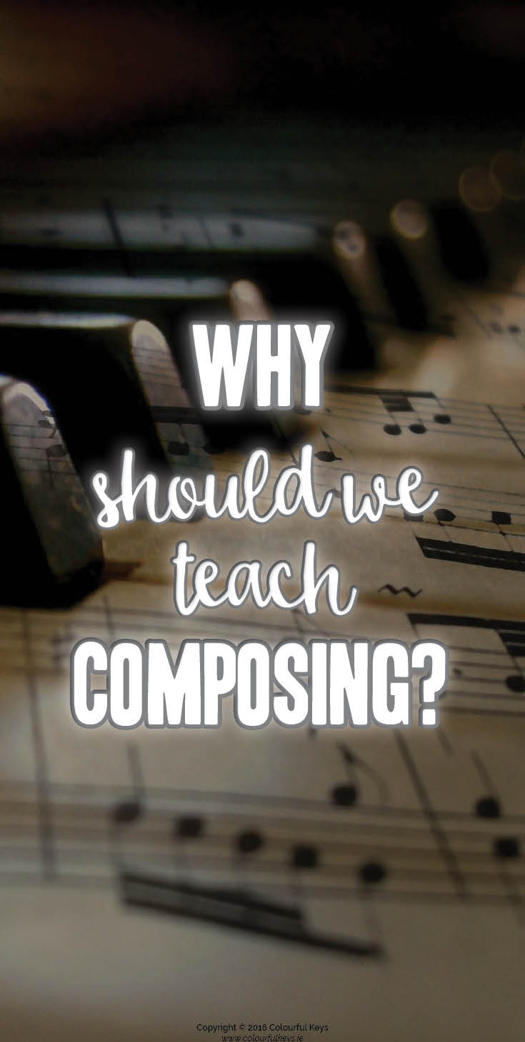 An argument for teaching music students composition