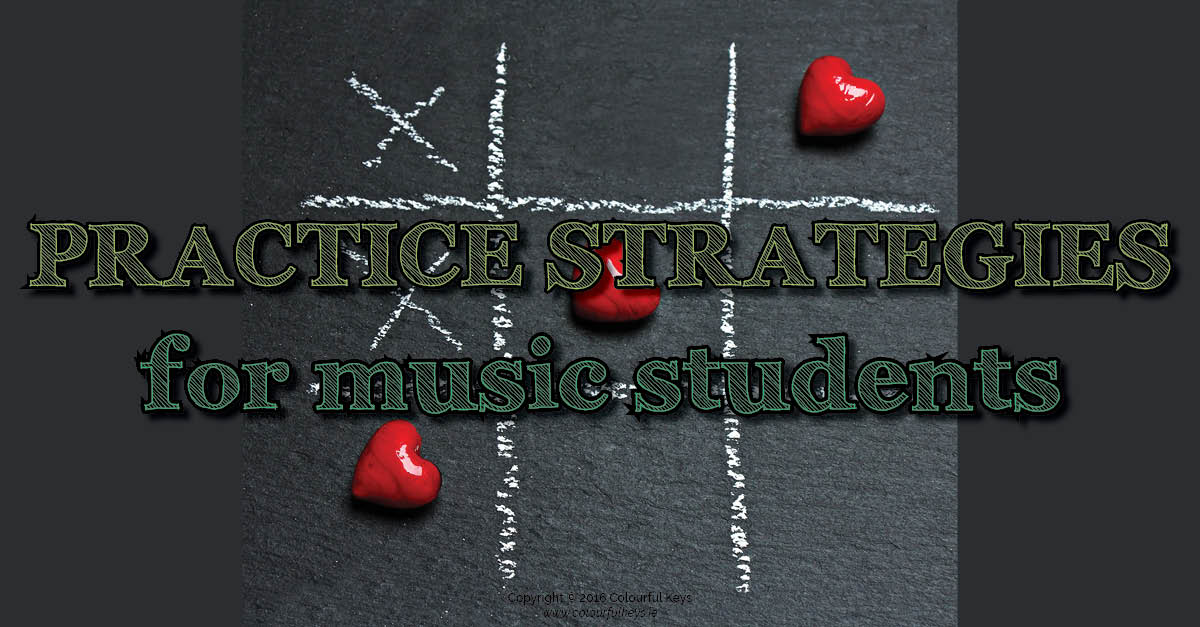 Practice strategies for intermediate piano students