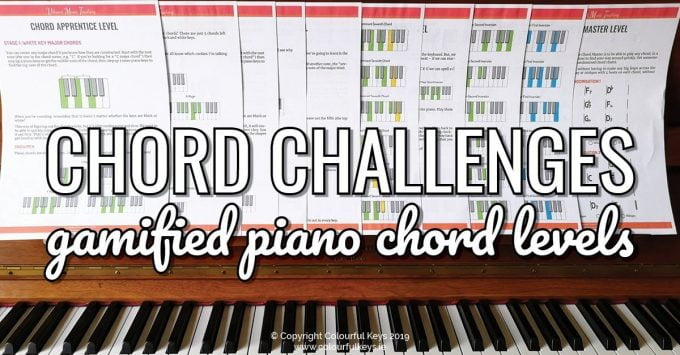 Chord Level Challenges - Systemised Piano Chord Goals2