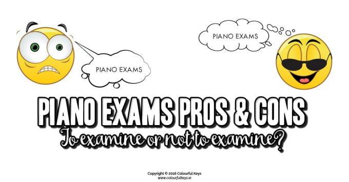 Piano Exams: To Examine or Not To Examine