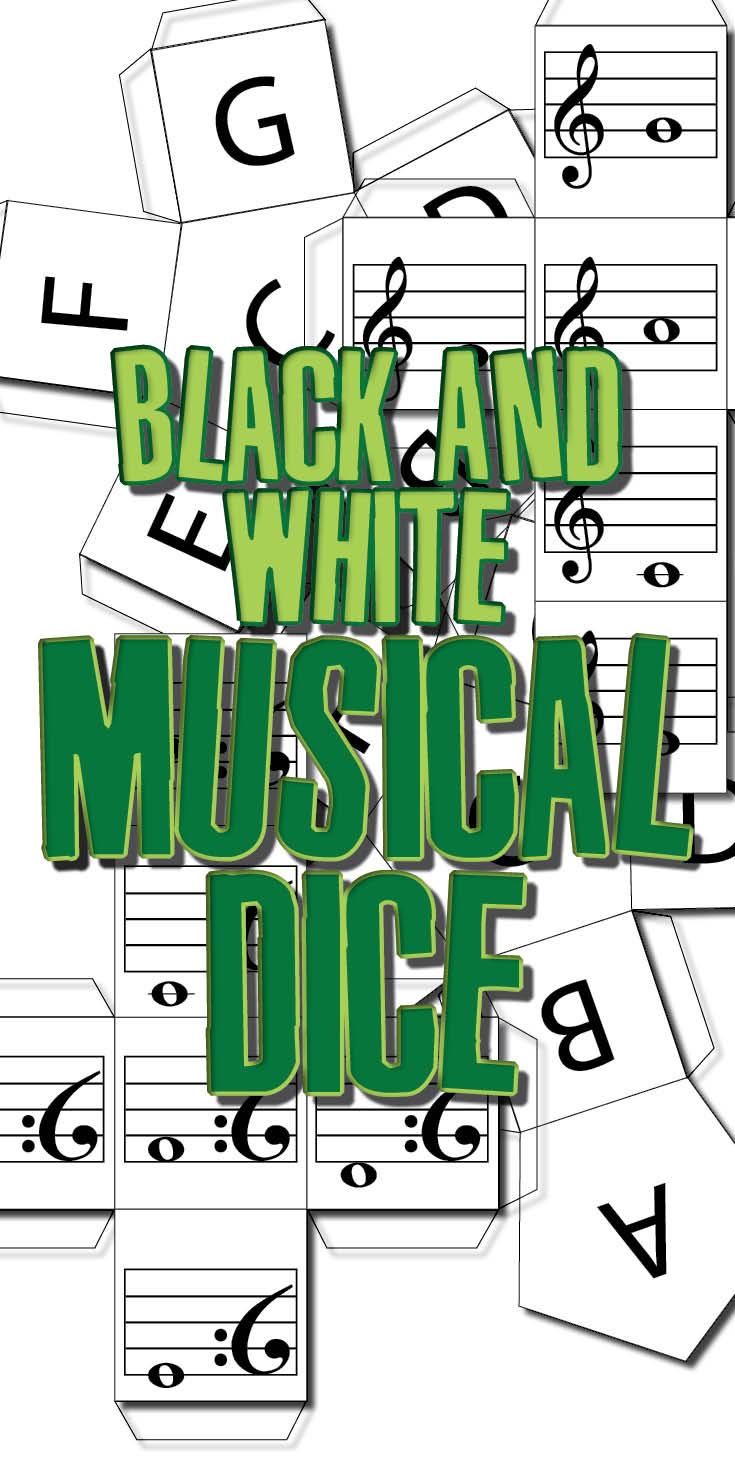 Music theory dice