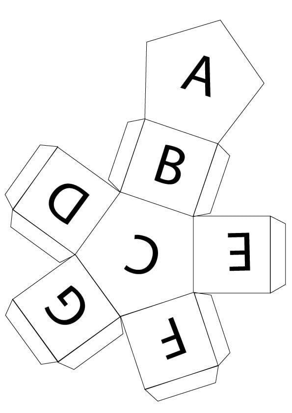 music alphabet dice