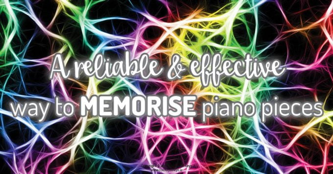 How to memorise piano pieces