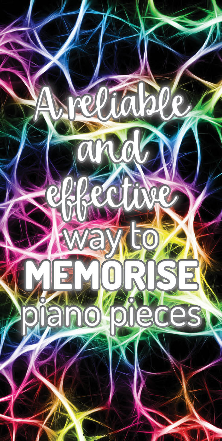 Piano memorisation the thorough and effective way.