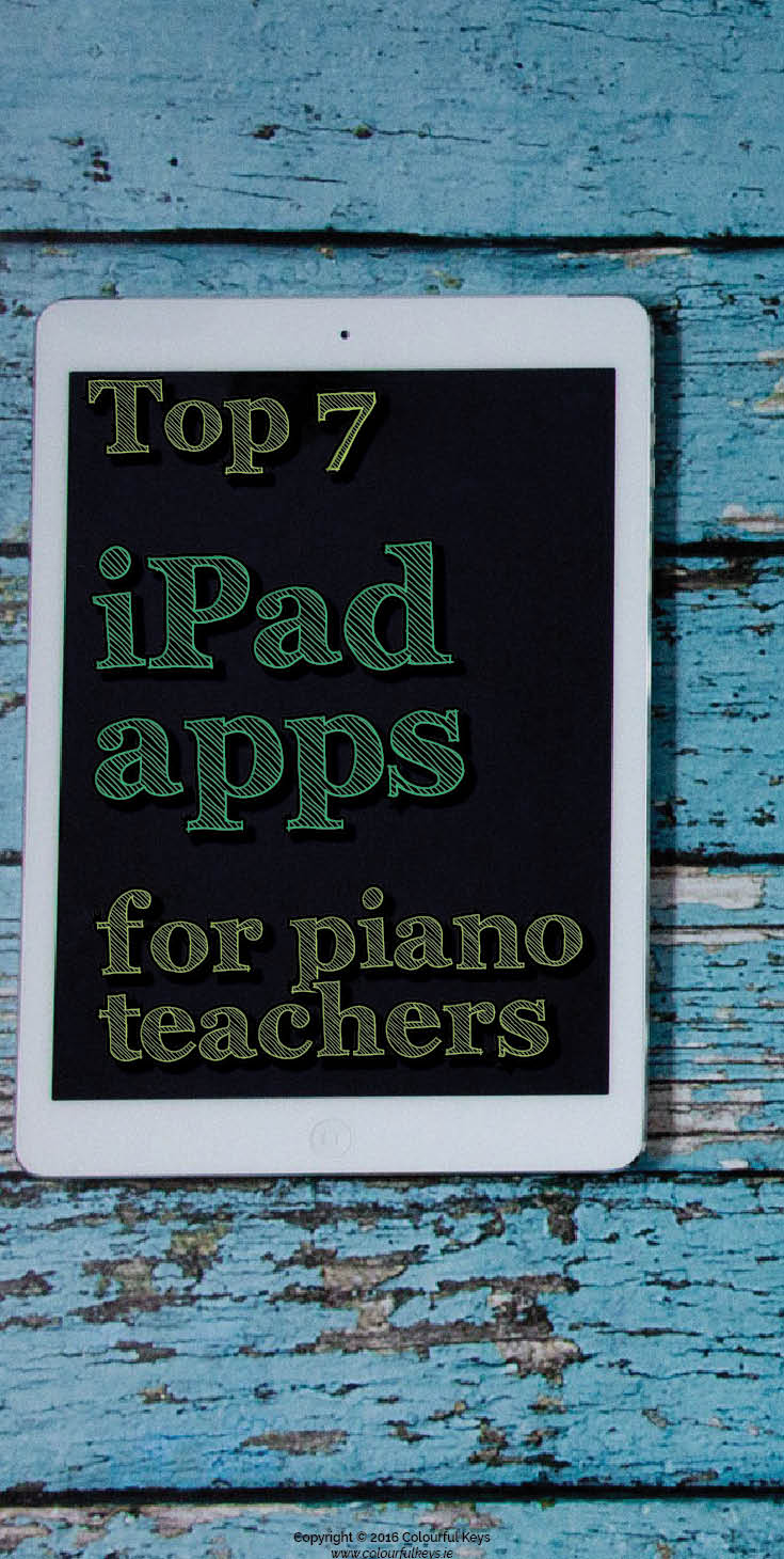 Favourite iPad apps for piano teachers