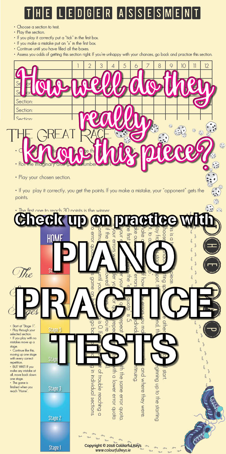 Piano piece tests