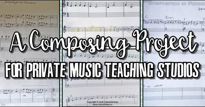 Spring Themes Composing Project – Fostering Creativity