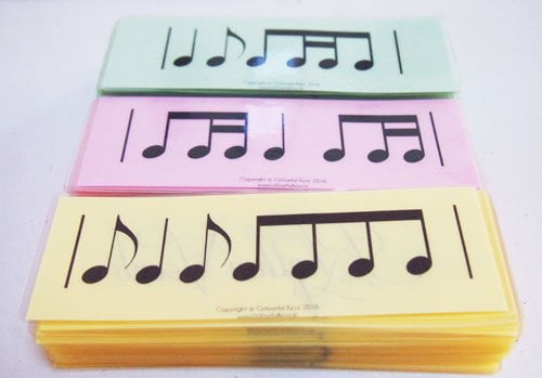 rhythm vocab cards