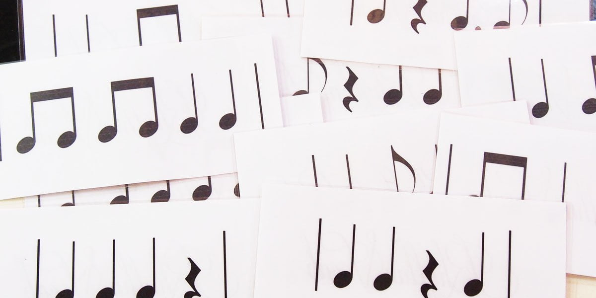 rhythm vocabulary cards