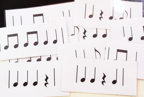 rhythm vocab cards