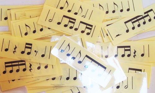 Level 2 rhythm vocab cards
