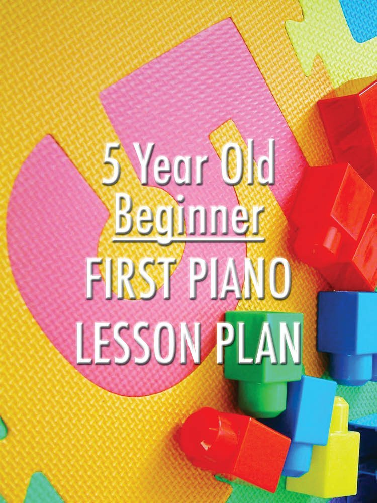 First piano lesson planning for a preschool beginner