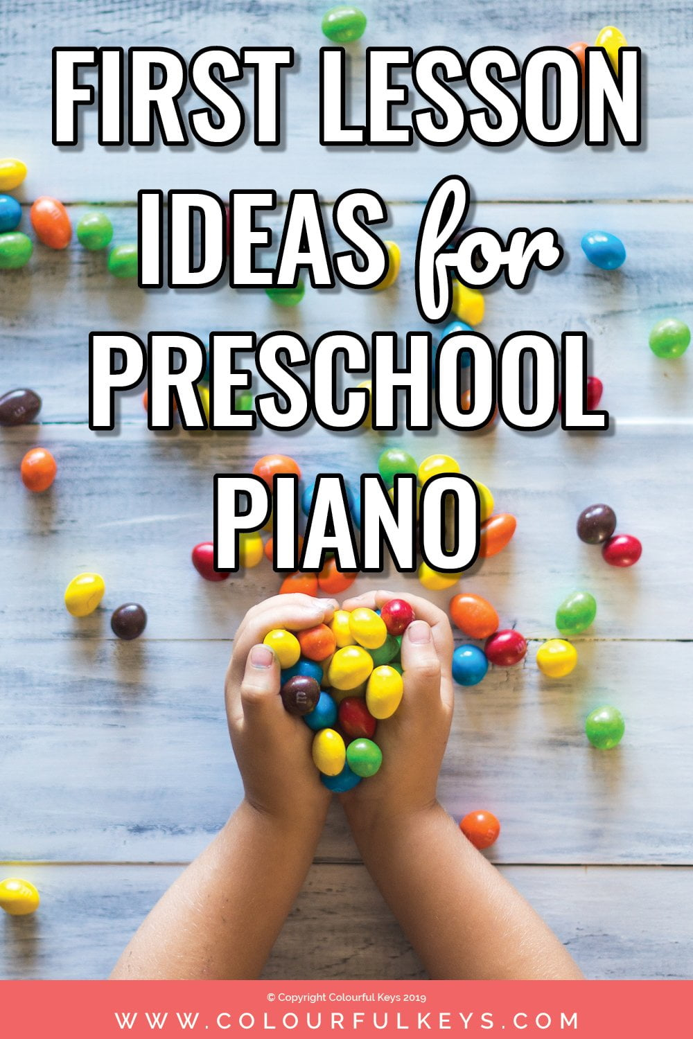 Great ideas for first piano lessons with preschool students. Practical and effective advice for piano teachers.