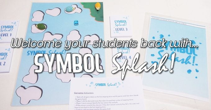 "The Perfect ""Welcome Back"" Music Boardgame – Symbol SPLASH!"