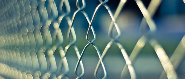 chain-link-barrier