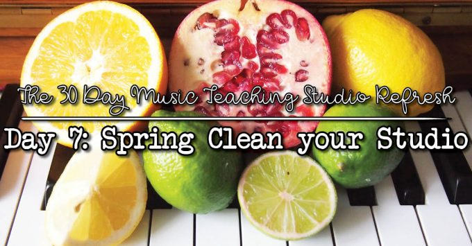 30 day studio refresh spring clean your studio
