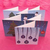 Music teacher Christmas cards