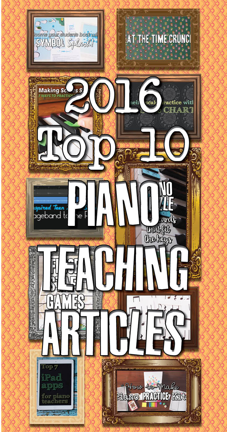 Best piano teaching articles of 2016