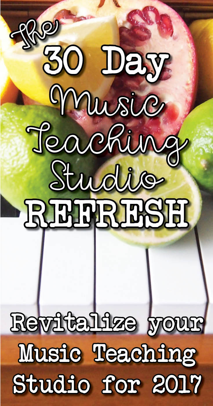30 Days to a Better Music Teaching Business
