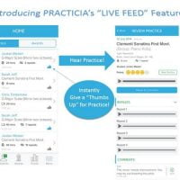 Practicia iPad app
